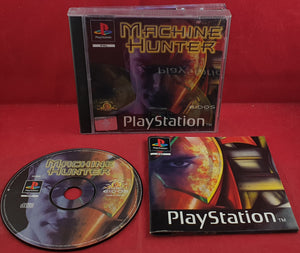 Machine Hunter Sony Playstation 1 (PS1) RARE Game