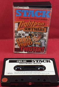 Crossword Twister Commodore 64 RARE Game