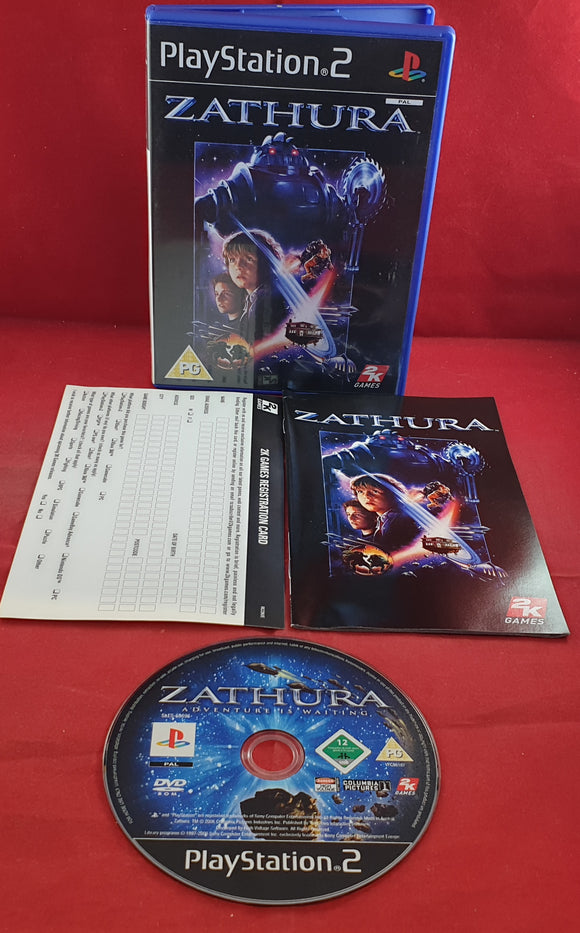 Zathura Sony Playstation 2 (PS2) Game