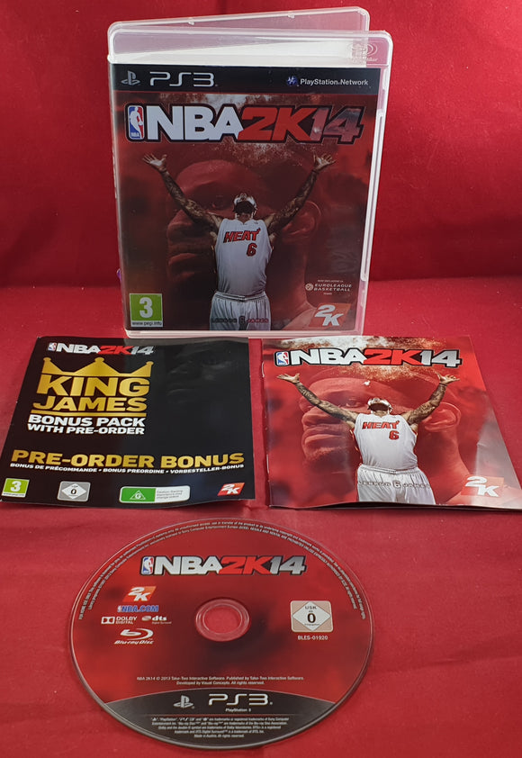 NBA 2K14 Sony Playstation 3 (PS3) Game