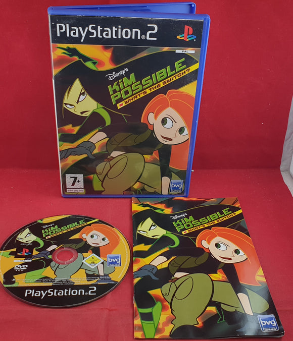 Disney's Kim Possible What's the Switch Sony Playstation 2 (PS2) Game