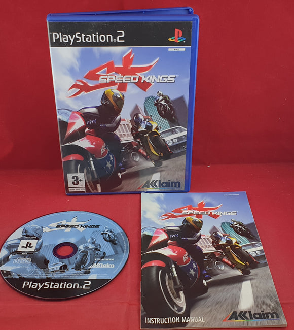 Speed Kings Sony Playstation 2 (PS2) RARE Game
