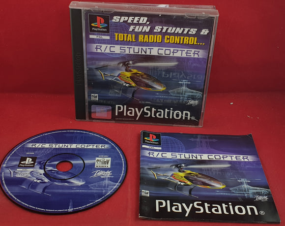 R/C Stunt Copter Sony Playstation 1 (PS1) Game