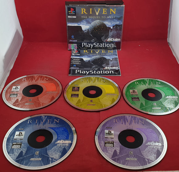 Riven the Sequel to Myst Sony Playstation 1 (PS1)