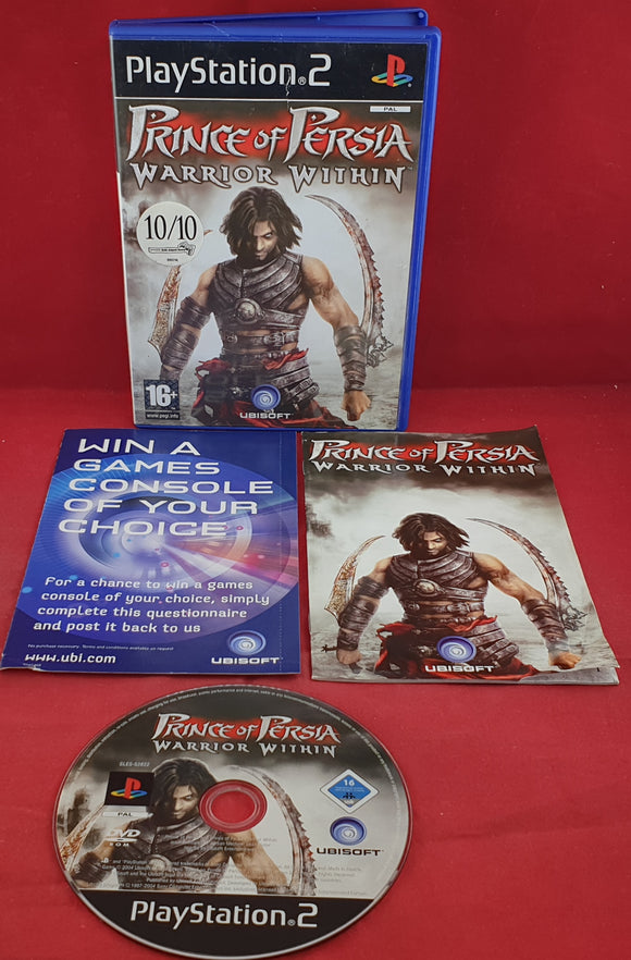 Prince of Persia Warrior Within Sony Playstation 2 (PS2) Game