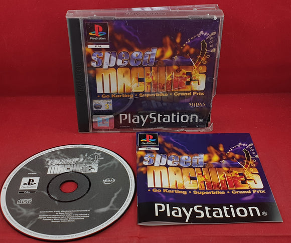 Speed Machines Sony Playstation 1 (PS1) Game