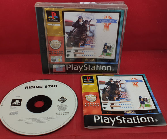 Riding Star Sony Playstation 1 (PS1) Game
