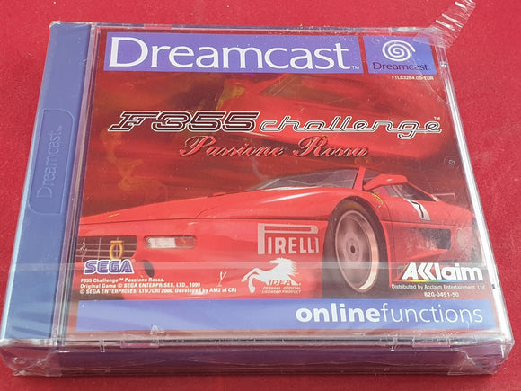 Brand New and Sealed F355 Challenge Passione Rossa Sega Dreamcast Game