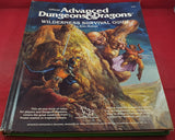 Official Advanced Dungeon & Dragons Wilderness Survival Guide Book Hardcover