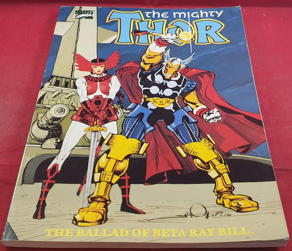 The Mighty Thor the Ballard of Beta Ray Bill Ultra RARE Comic Book