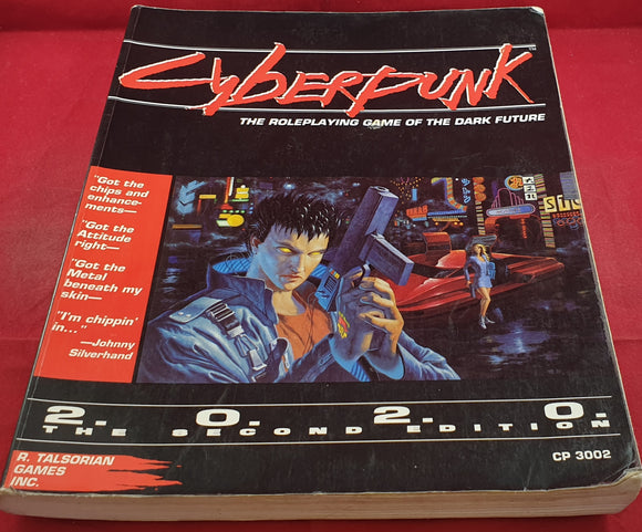 Cyberpunk the Roleplaying Game of the Dark Future 2.0.2.0 the Second Edition RARE Book