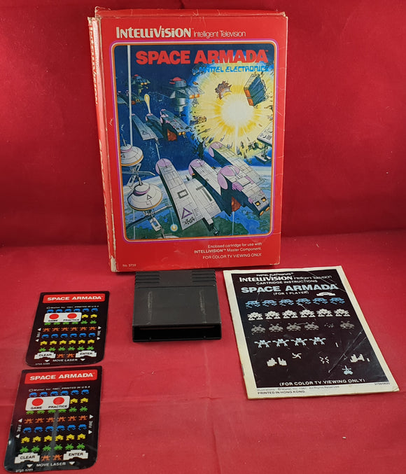 Space Armada Intellivision Game