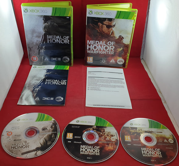 Medal of Honor & Medal of Honor Warfighter Xbox 360 Game Bundle