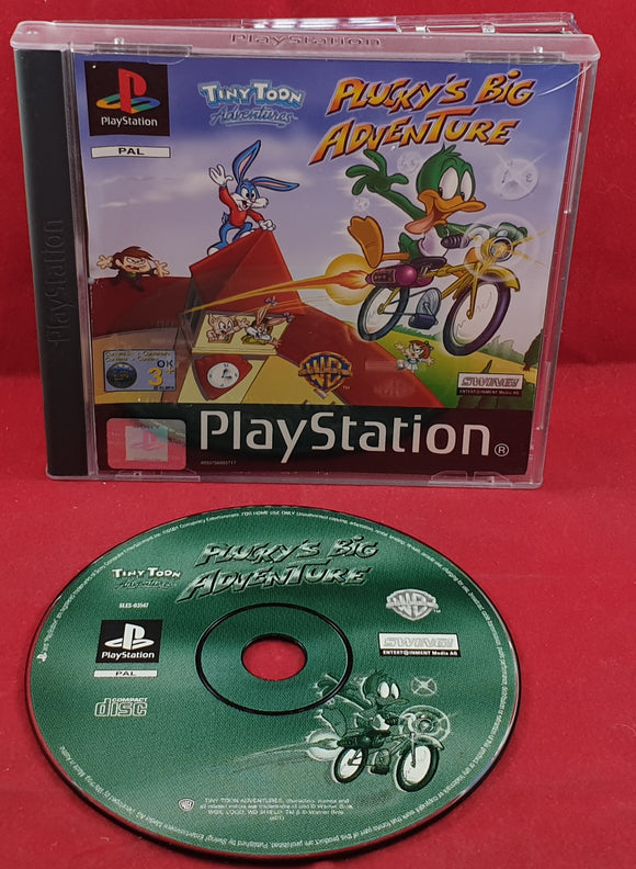 Plucky's Big Adventure Sony Playstation 1 (PS1) RARE Game