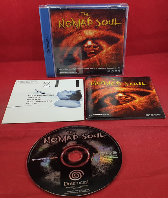The Nomad Soul Sega Dreamcast Game