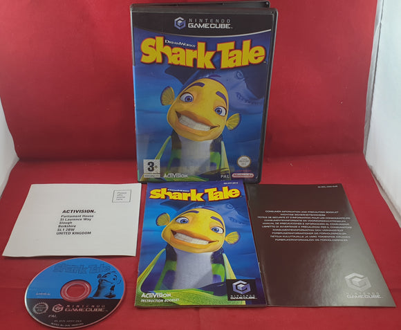 Shark Tale Nintendo GameCube Game