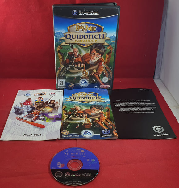 Harry Potter Quidditch World Cup Nintendo GameCube Game