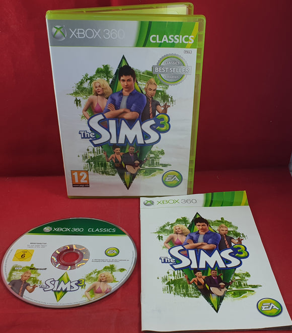 The Sims 3 Microsoft Xbox 360 Game