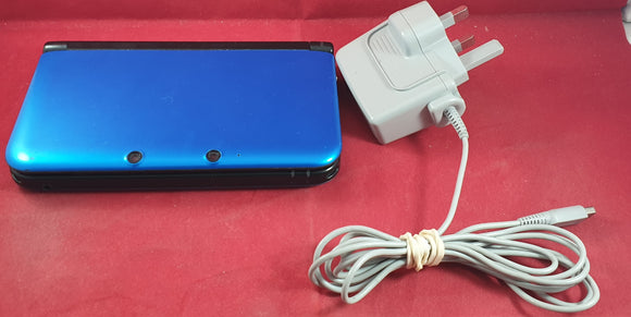Blue Nintendo 3DS XL Console US model