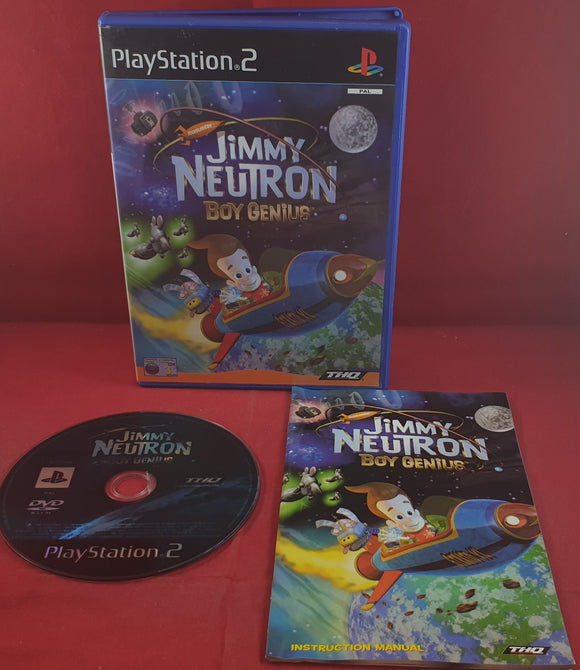 Jimmy Neutron Boy Genius Sony Playstation 2 (PS2) Game