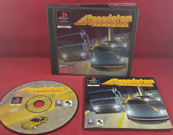 Speedster AKA Rush Hour Sony Playstation 1 (PS1) RARE Game