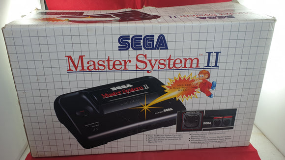 Boxed Sega Master System II Console with Alex Kidd Built in