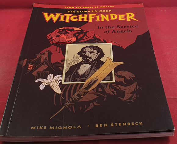 Witchfinder in the Service of Angels Comic Book