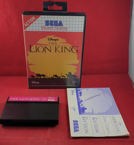 The Lion King Sega Master System Game