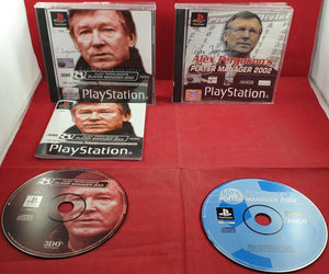 Alex Ferguson's Player Manager 2001 & 2002 Sony Playstation 1 (PS1) Game Bundle