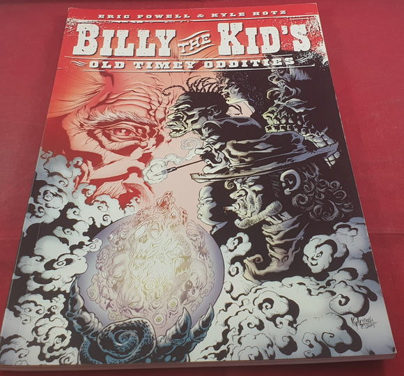 Billy the Kid's Old Timey Oddities Comic Book