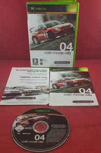 Colin McRae Rally 04 Microsoft Xbox Game