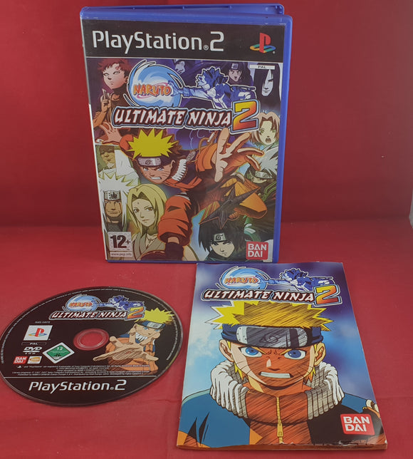 Naruto Ultimate Ninja 2 Sony Playstation 2 (PS2) Game