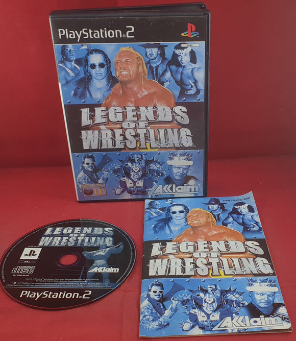 Legends of Wrestling Sony Playstation 2 (PS2) Game