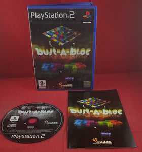 Bust-A-Bloc Sony Playstation 2 (PS2) Game