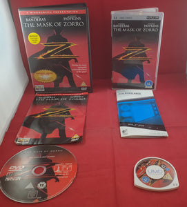 The Mask of Zorro DVD & PSP UMD