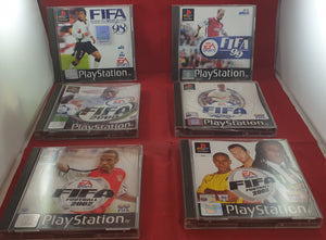 FIFA 98-03 Sony Playstation 1 (PS1) Game Bundle