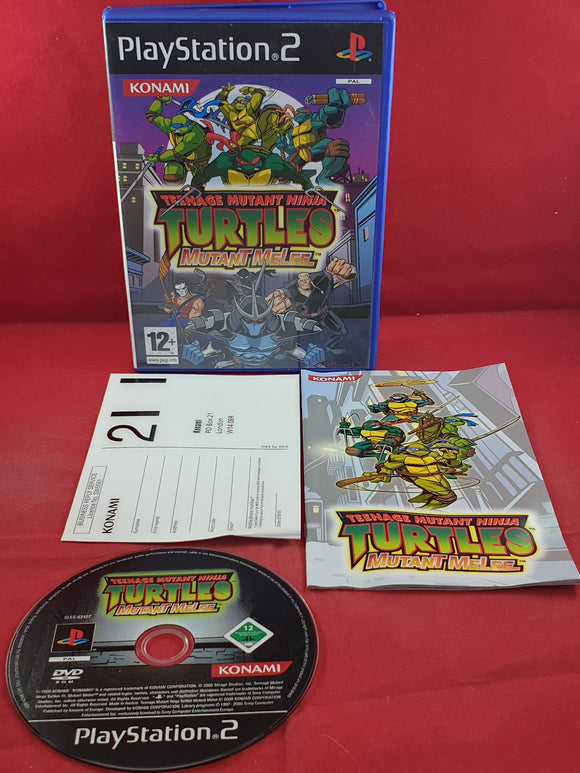 Teenage Mutant Ninja Turtles Mutant Melee Sony Playstation 2 (PS2) Game
