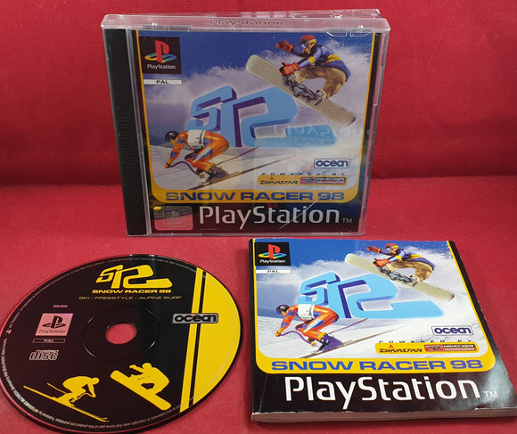 Snow Racer 98 Sony Playstation 1 (PS1) Game
