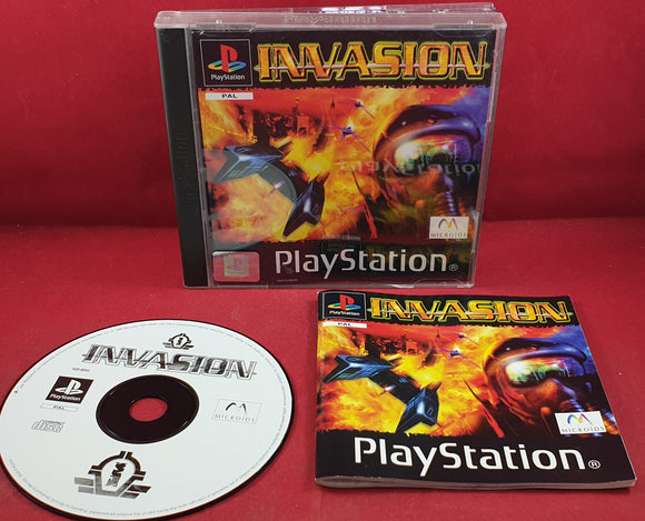 Invasion Sony Playstation 1 (PS1) RARE Game