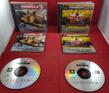Formula One & Formula 1 97 Sony Playstation 1 (PS1) Game Bundle