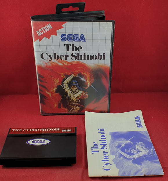 The Cyber Shinobi Sega Master System Game
