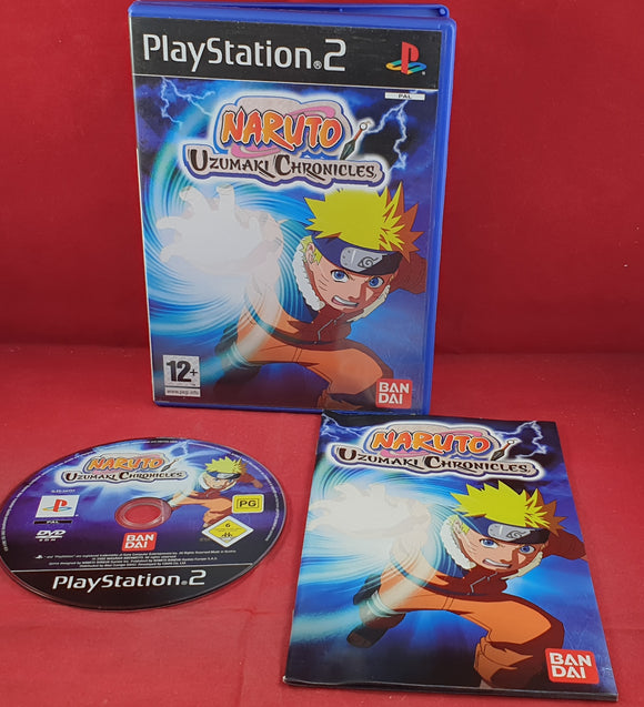 Naruto Uzumaki Chronicles Sony  Playstation 2 (PS2) Game