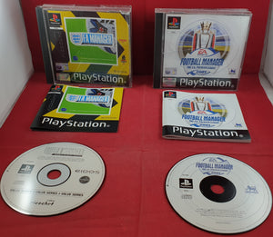 F.A. Manager & Football Manager 2001 Sony Playstation 1 (PS1) Game Bundle
