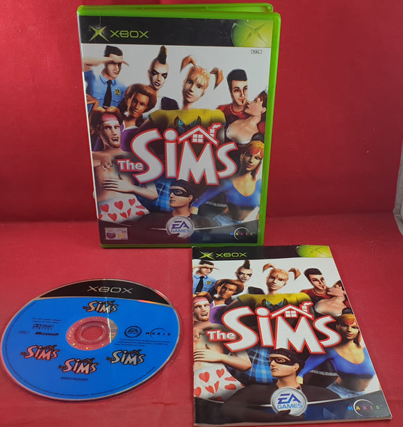 The Sims Microsoft Xbox Game