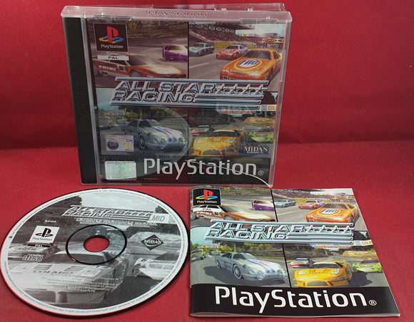 All Star Racing Sony Playstation 1 (PS1) Game