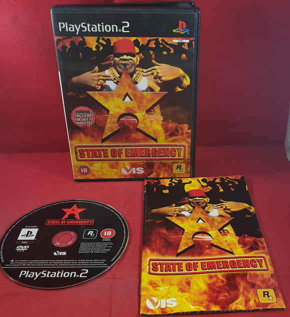 State of Emergency Sony Playstation 2 (PS2) Game