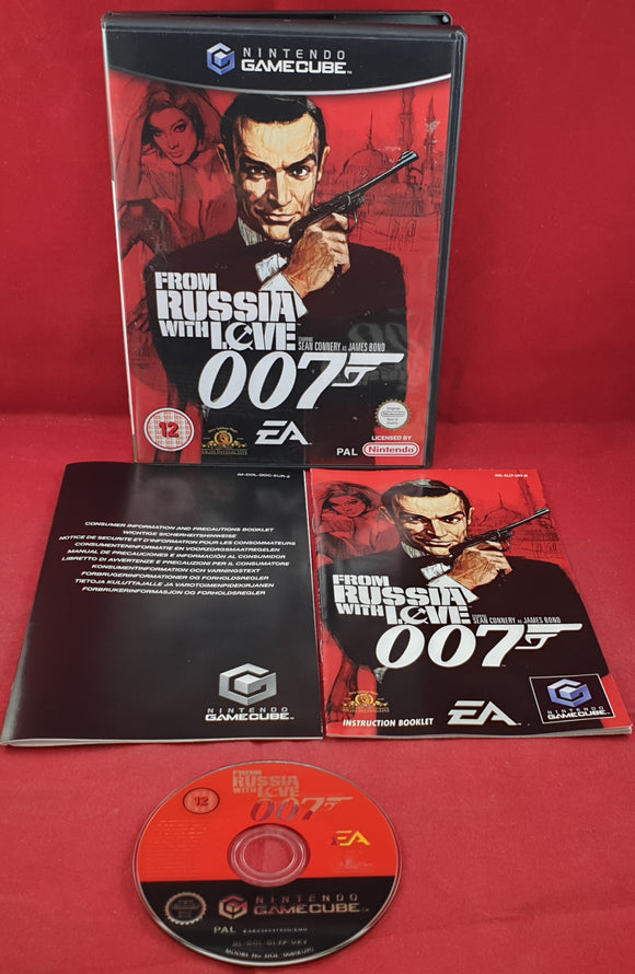 From Russia with Love Nintendo GameCube Game