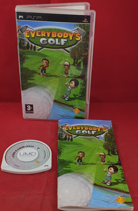 Everybody's Golf Sony PSP Game
