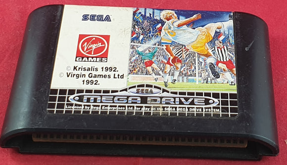 European Club Soccer Cartridge Only Sega Mega Drive Game