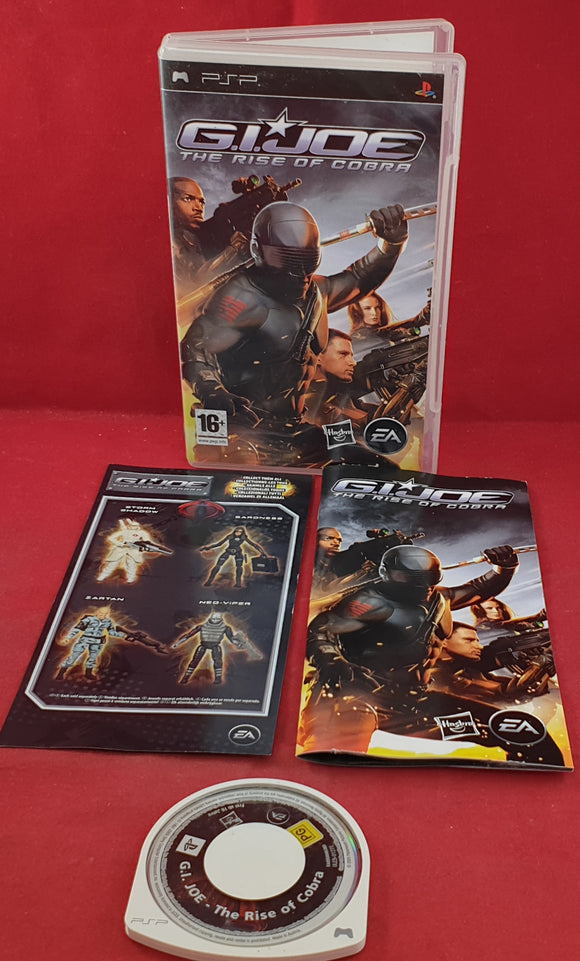 G.I. Joe the Rise of Cobra Sony PSP Game